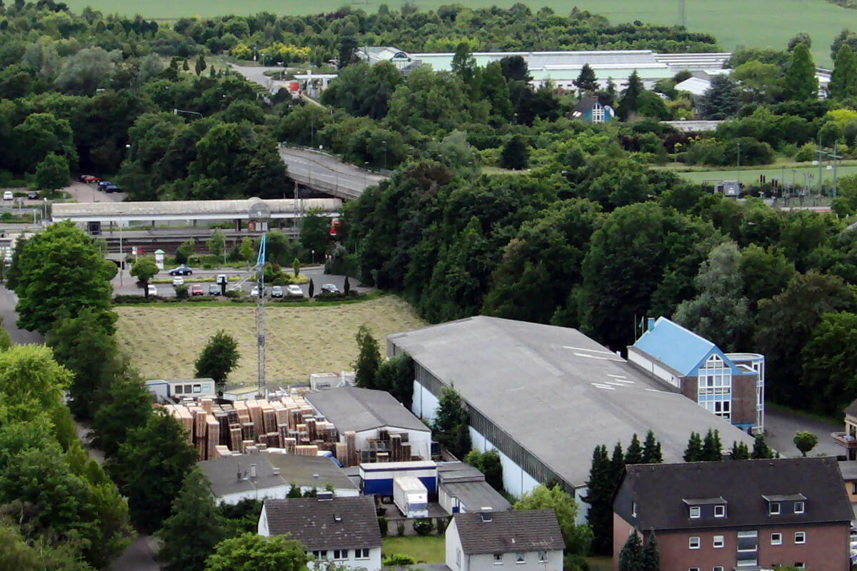 Luftbild Standort Über uns Peter Post